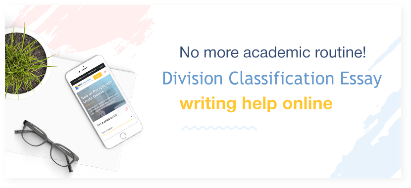 buy Division and Classification Essay